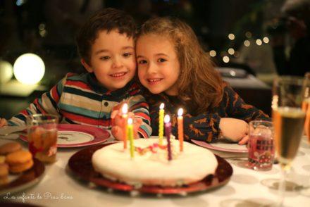 Jumeaux Gâteau 5 ans