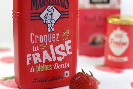 Le Petit Marseillais Gel douche fraise