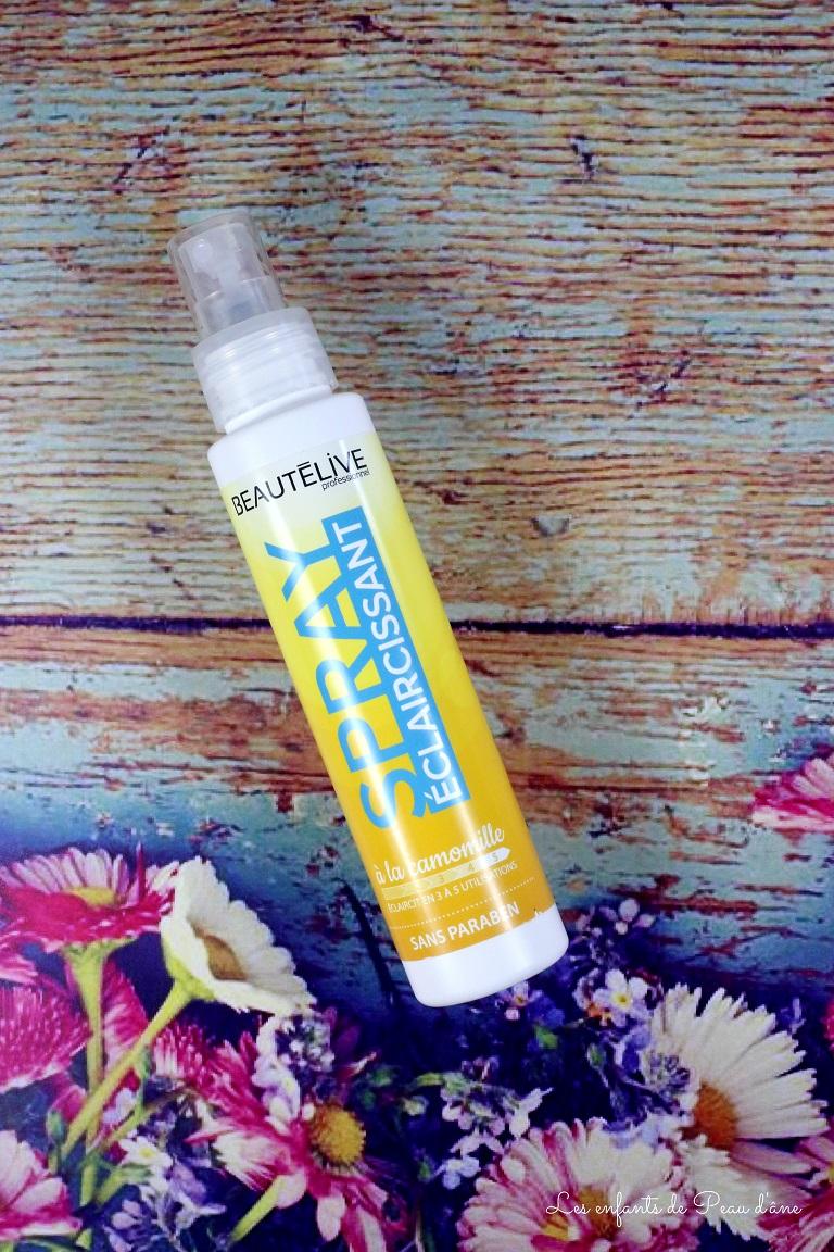 Beautelive - Spray éclaircissant