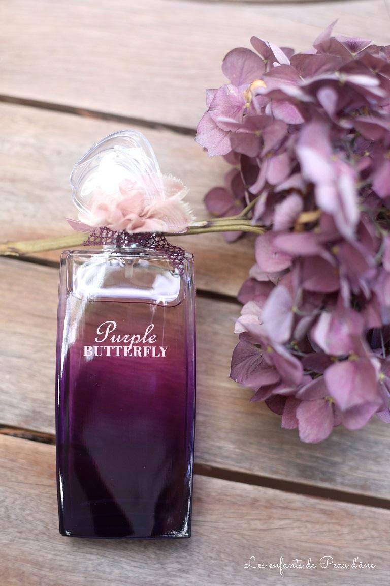 Hanae Mori Purple Butterfly