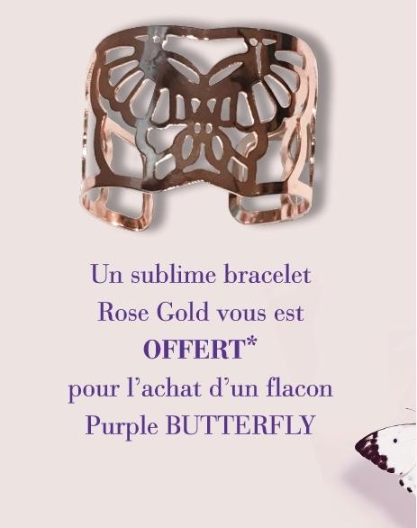 Hanae Mori - Bracelet Rose Gold