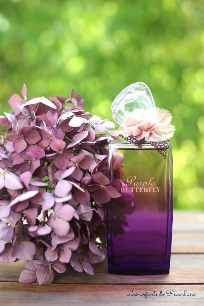 Parfum à la verticale