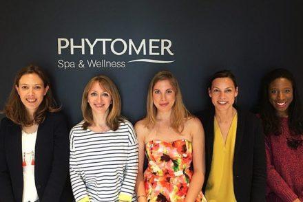 Equipe Phytomer et les chroniqueuses