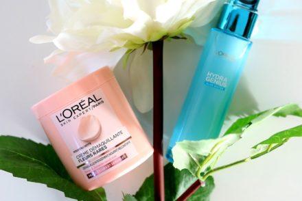 L'Oréal Crème démaquillante fleurs rares et Hydra Genius