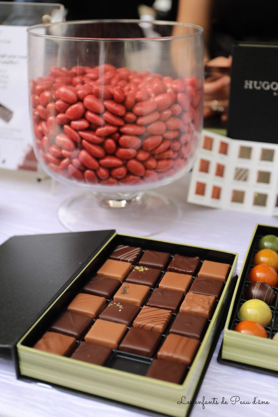 Bac Sucré Chocolats et fèves chocolat-fraise Hugo et Victor
