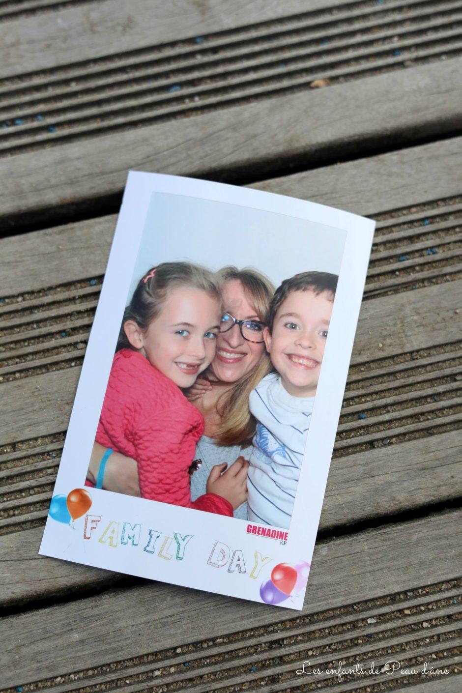 Family Day Photo souvenir
