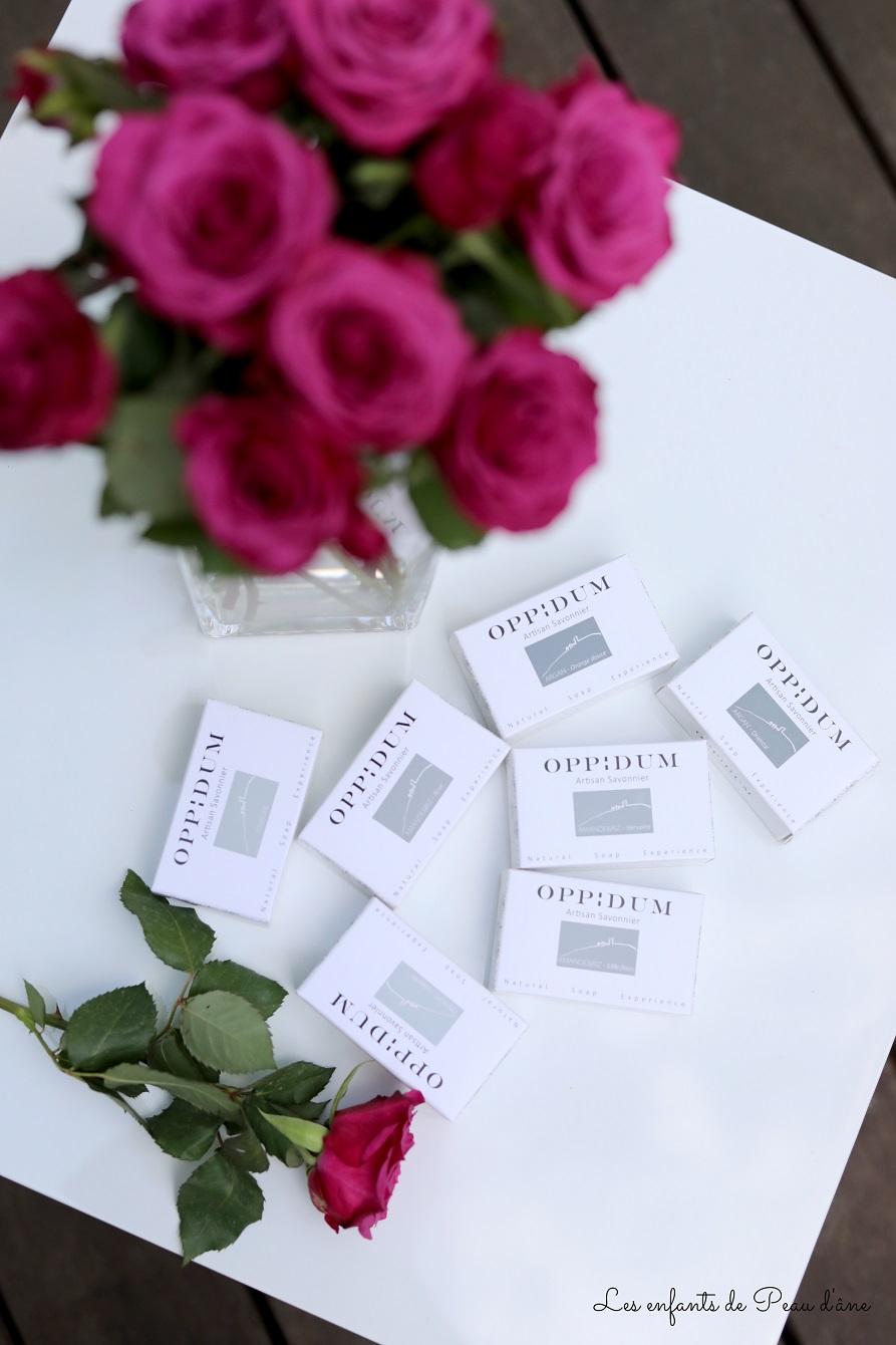 Oppidum - Savons emballés
