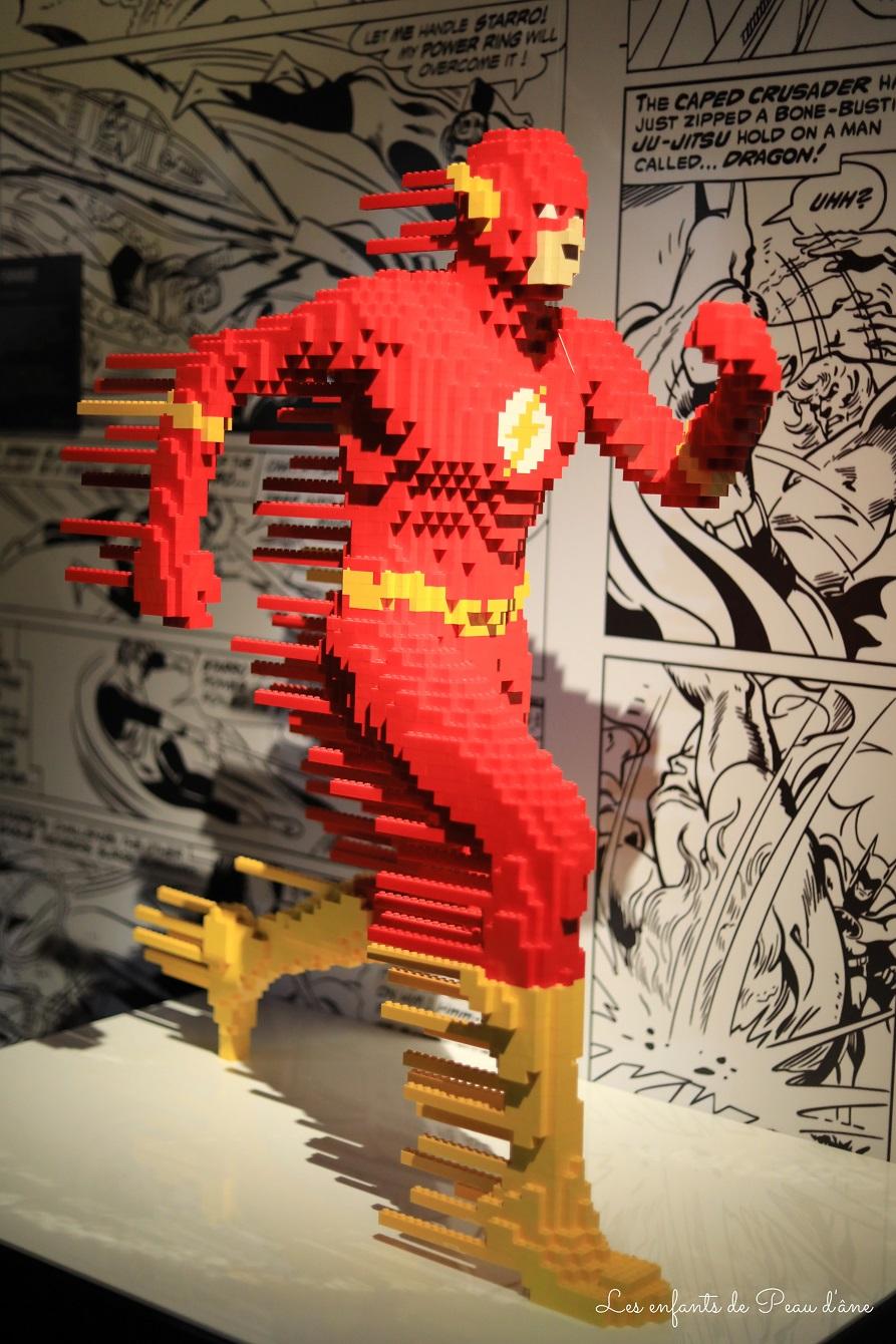 Exposition LEGO des super-héros DC - Flash