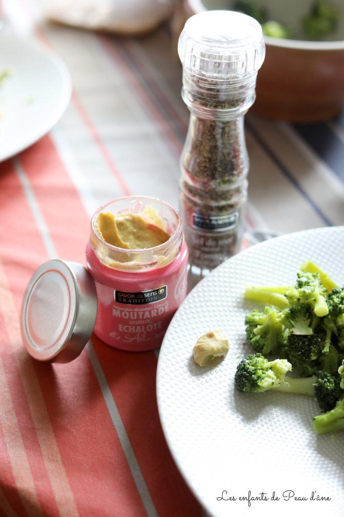 Savor & Sens - Moutarde échalote et sel de table