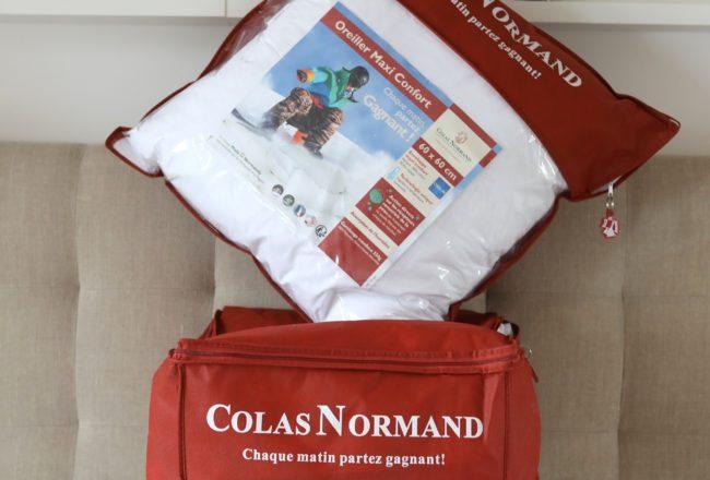 Colas Normand - Couette et oreiller emballés