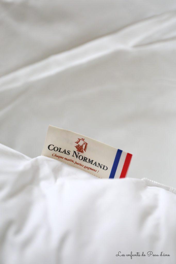 Colas Normand - Oreiller étiquette