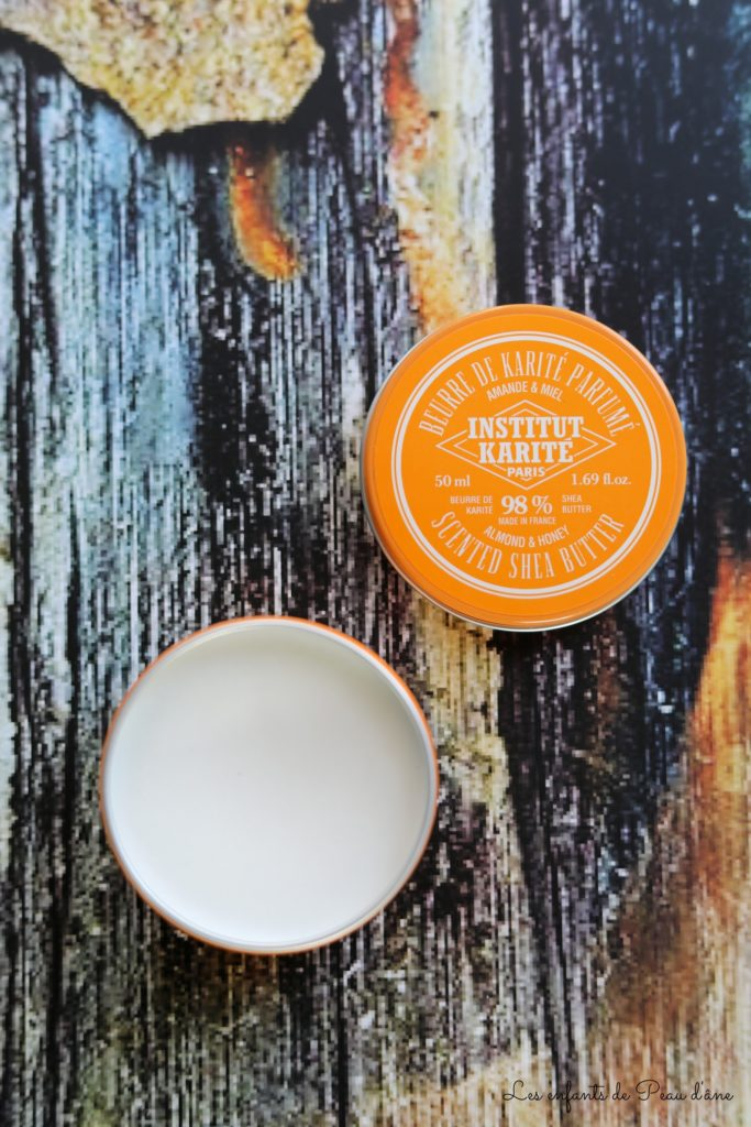 Belle au naturel - Beurre de karité parfumé miel et amande de l'Institut Karité Paris