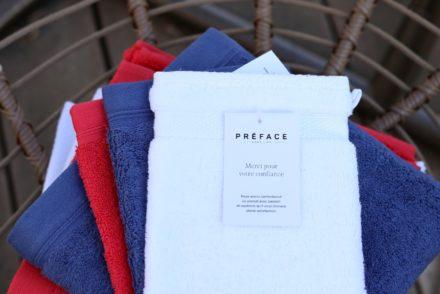 Préface - Serviettes et gants