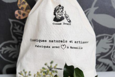 Comme Avant - Pochon cosmétiques naturels et artisanaux