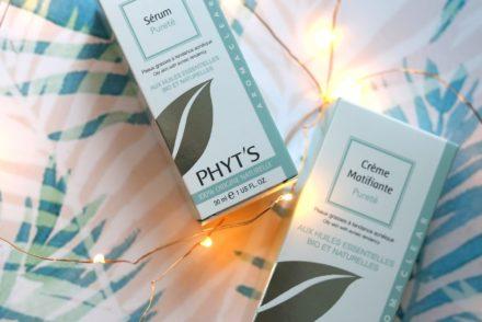 Phyt's pureté - Crème matifiante et sérum pureté
