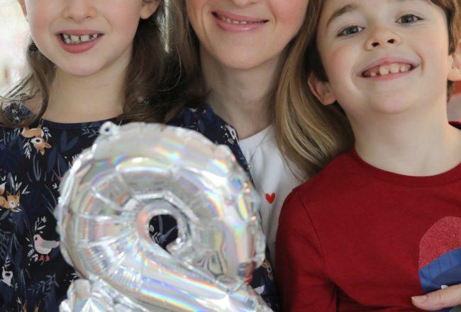 Anniversaire 8 ans - Nous trois