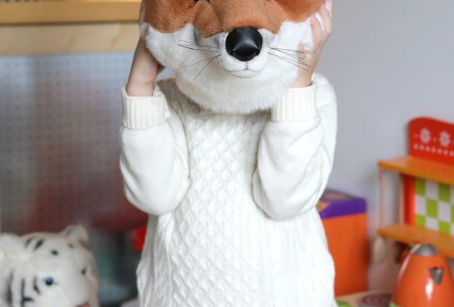 Bébé Gavroche - Tête de renard