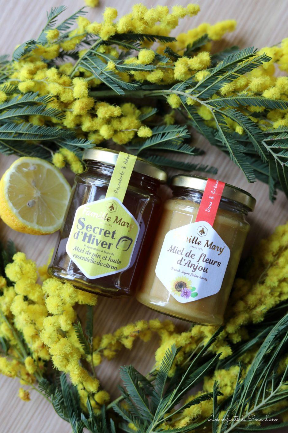 Famille Mary - Miel Secret d'hiver et Miel de fleurs d'Anjou