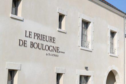 Le Prieuré de Boulogne - Façade principale - Vertical