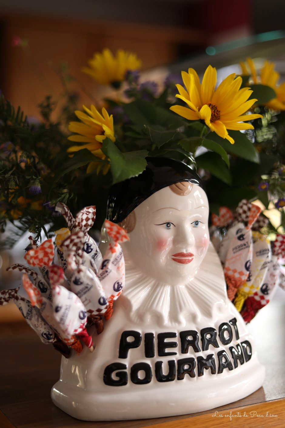 Pierrot Gourmand - Buste sucettes